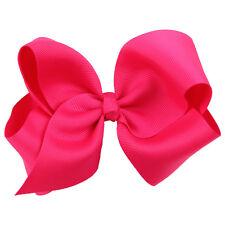 New Girls Big Ribbon Hair Bows Boutique Hair Clip Hairpin Baby Hair Accessories