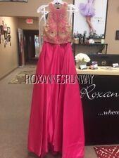 Tiffany 16188 Lipstick Pink Nude  2 Piece Ball Gown Dress sz 6