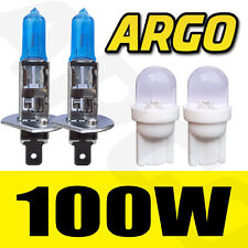 H1 100W XENON SUPER WHITE 448 HID HEADLIGHT BULBS FIAT 131 MIRAFIOR1