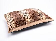 Luxury Fur Dog Beds LARGE & Extra Large Animal Mattress Washable Pillow Cushions