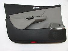2006 VW PASSAT FRONT LEFT DOOR TRIM PANEL GRAY OEM 06 07 08 09 10