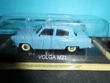 Volga (Gaz M 21) private car in Blue 1:43rd Russian De Agostini Greece Model