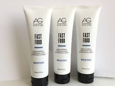 4- AG Hair Care -Fast Food- Moisture -Leave on Conditioner - 2oz each  New 4pc