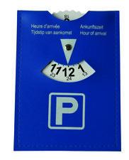 HP Parkscheibe Kunstleder Autozubehör 11x15 cm Euro Norm 24 Stunden  19941 !