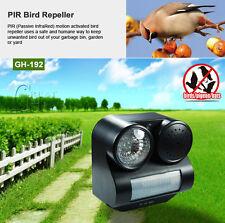 New Humane Ultrasonic Infrared Harmless Pest Birds Repeller Controller