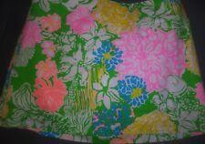 Lilly Pulitzer Hibiscus Stroll  Girls Sz 14 Skort Skirt