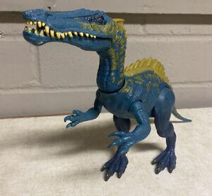 Jurassic World Park Suchomimus Blue Dinosaur Figure Toy Loose RARE