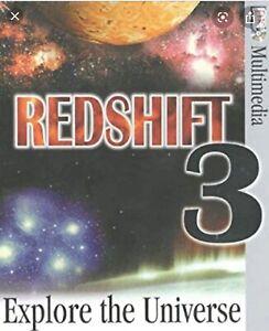 Redshift 3 - Explore the Universe | DK Multimedia | [PC, CD-ROM] (Win 95/Mac)