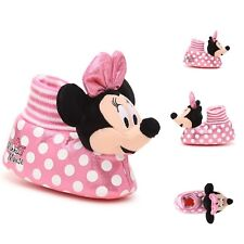 New listing Minnie Mouse Slippers Toddler 5-6 Girls Nwt
