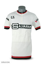 SALVARANI vintage wool jersey, white version, new, never worn L