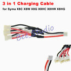 1 to 3 converter charging cable for Syma X8C X8W X8G X8HC HW HG Battery Charger