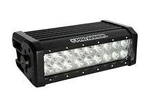 "Pro Armor 10"" LED Flood Light Lite Bar Dual Row Black ATV UTV Car Dune Buggy"