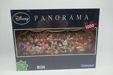 Disney Characters 1000 Piece Clementoni Panorama Jigsaw Puzzle