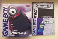 NINTENDO GAMEBOY ORIGINAL OFFICIAL CAMERA Red Genuine Camera Boxed complete