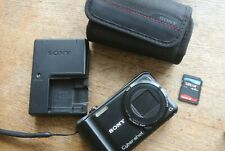 Sony DSC-HX5 Camera 10.2MPixel Digital Camera VERY NICE case etc