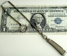 Antique VTG GF Art Deco Folding Pocket KNIFE TwoTone Chain FOB Chatalaine watch