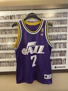 Champion - Utah Jazz Pistol Pete Maravich Vintage Jersey (1997)