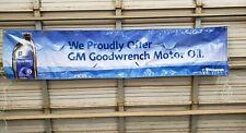 Used Gm Goodwrench Motor Oil Vinyl Gm Dealership Banner,Garage Decor