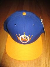 Rare 90s OMAHA ROYALS Minor League Baseball Snap Back Cap w Tags WARREN BUFFETT