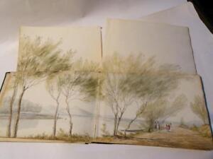 William John Burchell 19thC Famous Explorer 40+ Original Artist Sketch Album
