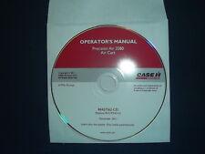 CASE PRECISION AIR 3580 AIR CART OPERATION & MAINTENANCE BOOK MANUAL CD