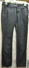 B. B. Couture Charcoal Gray Denim Jeans Size 3 Inseam 31 1/2 Inches Good Shape