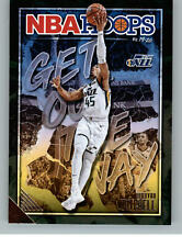 2019-20 Panini NBA Hoops Get Out The Way 6 Donovan Mitchell