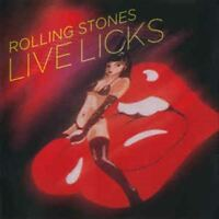 THE ROLLING STONES live licks (CD, Album) Rock & Roll, Pop Rock, very good,