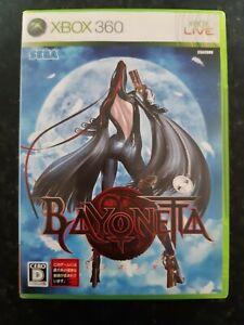 Bayonetta Sega Japanese Xbox 360