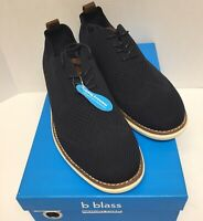 Bill Blass Mens Fly Knight Oxford Lace Up Shoes Color Navy Blue Size US:10 NEW #