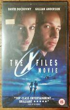 The X Files Movie VHS Large Big Ex Rental