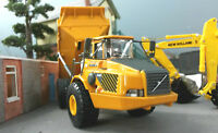 Volvo A40 Artic Dump Truck Bande-annonce Charge Oxford Motorart 1:87 HO/OO/00