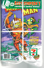 Bart Simpson RadioActive Man 7/11 Origin Issue Banded Pack of 25 polybag comics