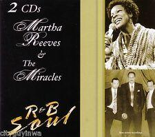 MARTHA REEVES MIRACLES 2CD Digipak Classic 60s 70s R&B New Stereo Recordings