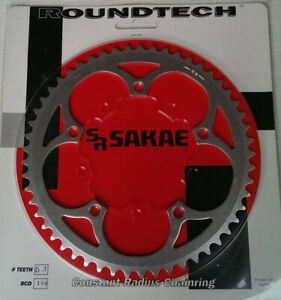 Sakae Roundtech Rennrad Kettenblatt, 53 Zänne, 130mm Lochkreis, Japan, NOS,Retro