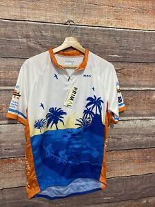 PRIMAL WEAR Cycle Jersey BIKE Shirt Size XL Polyester Florida PGA Tour NWT