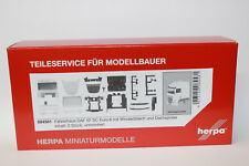 Herpa 084581 Fahrerhaus DAF XF SC Euro 6 mit Windleitblech und Dachspoiler 1:87