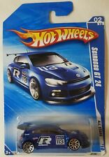 Hot Wheels 2010 All Stars VW Scirocco GT 24 Blue - New