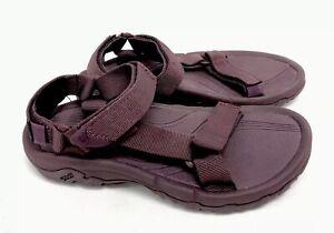 Teva Hurricane XLT Solid Fig Plum Purple Sandals Womens 4176 Strappy Shoes