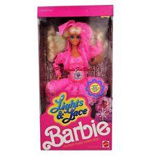1990 Feux et dentelle poupée barbie Hottest MUSIC VIDEO STAR neuf dans boîte worn