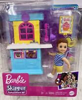 Barbie Skipper Babysitters Inc Toddler Boy Doll and Kitchen New