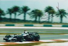 Nico Rosberg mano firmado 12x8 Foto AT&T Williams F1 1.
