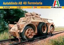Italeri  1/35   Autoblinda AB 40 Ferroviaria #6456