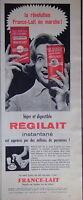 PUBLICITÉ RÉGILAIT INSTANTANÉ LA RÉVOLUTION FRANCE-LAIT EN MARCHE EN BOÎTE