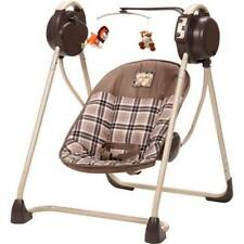 New - Cosco Sway 'n Play Swing - Portable Great for Travel Soft Toys Melody Cozy