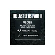 DLC per THE LAST OF US 2 - Ammo Capacity + Crafting Training Manual