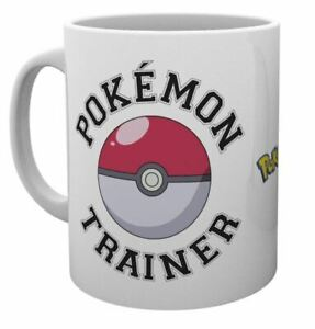 OFFICIAL POKEMON TRAINER COFFEE MUG CUP NEW IN GIFT BOX