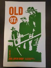 Old 97s concert poster Theater of Living Arts