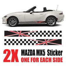 Mazda MX5 Graphics Eunos Roadster mk1 mk2  stripes Decals Stickers mz8