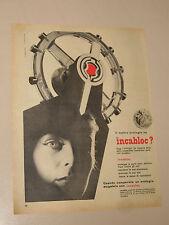 INCABLOC OROLOGIO WATCH=ANNI '50=PUBBLICITA=ADVERTISING=WERBUNG=395